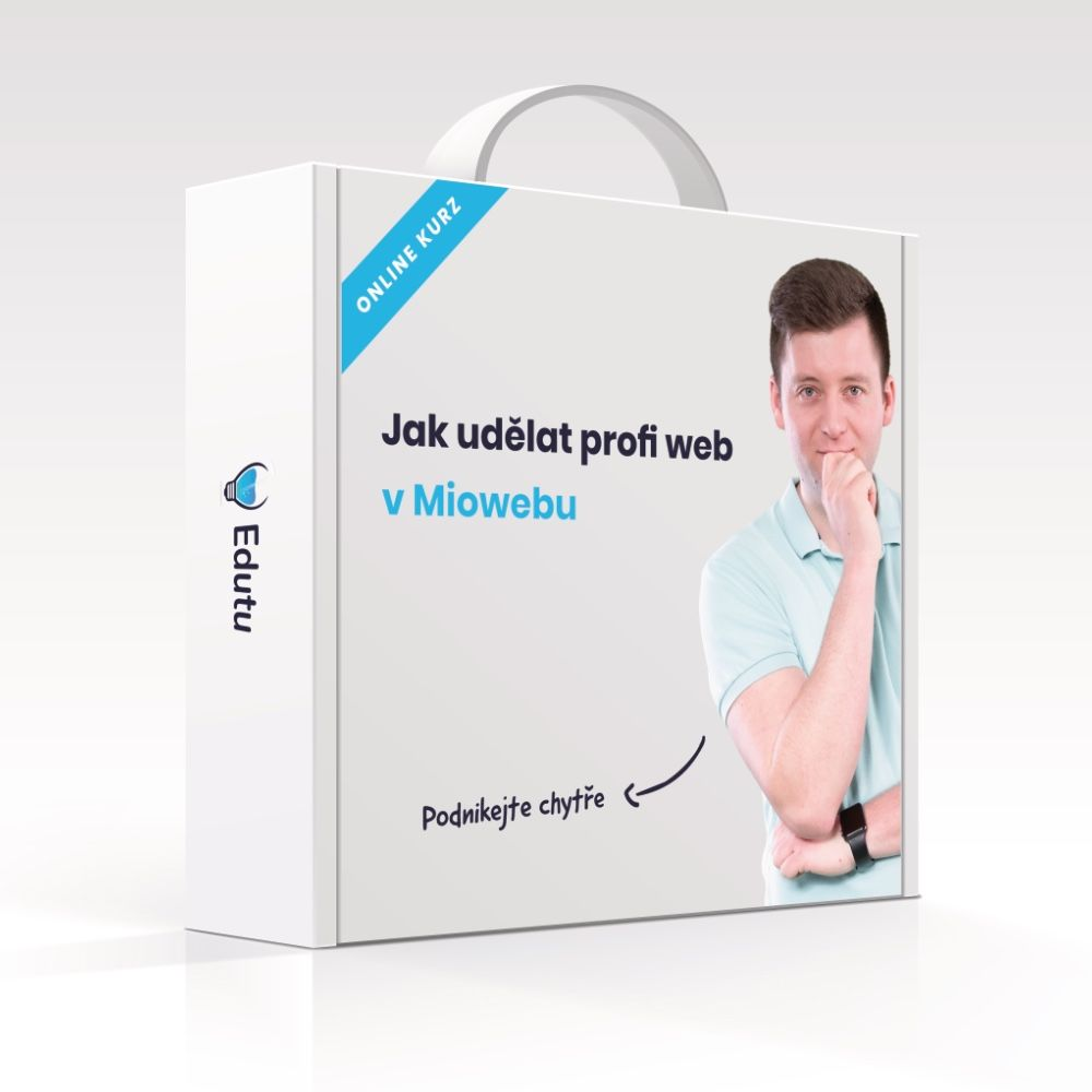 Online kurz Jak udělat profi web vMiowebu